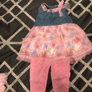 Brand new with tags 18 month old babygirl outfit